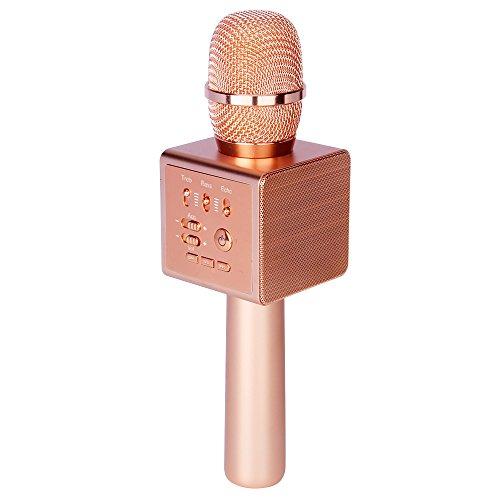 Micgeek i6,Original MICGEEK Factory,Wireless Bluetooth Karaoke Microphone,3-in-1 1800mAh 18650 Battery,Aluminium Alloy Karaoke Machine KTV for iPhone Android Smartphone or Pc … - Shops Mobile Online
