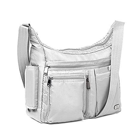 262ccb901c19 Lug Double Dutch Cross Body Bag, Platinum Silver, One Size: Amazon.ca:  Luggage & Bags