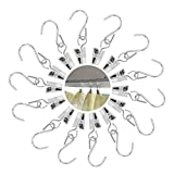 Hadpoo 60 Pack S Shape Hooks Outdoor Party Light