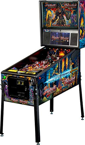 Stern Pinball Black Knight: Sword of Rage Arcade Pinbal Machine, Pro Edition