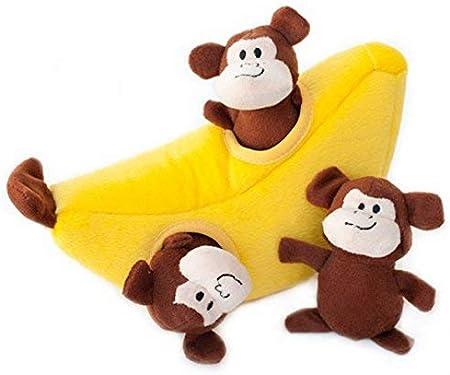 ZippyPaws Interactive Puzzle Zippy Burrow Monkey and Banana