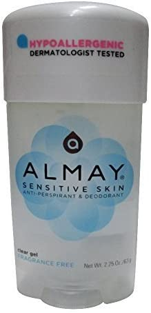 Almay Sensitive Skin Clear Gel Antiperspirant and Deodorant
