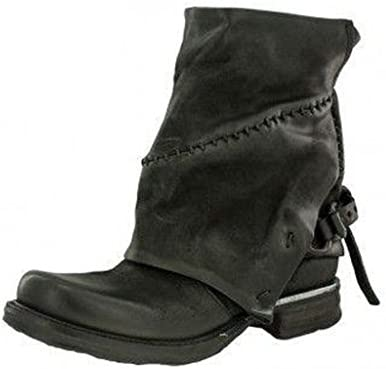 bottines as 98 air step 717241 saint metal noir femme