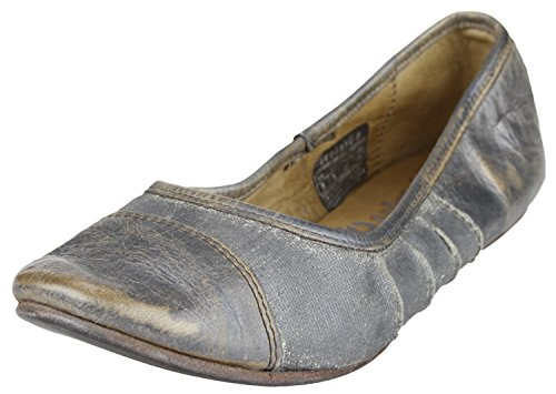 BED STU Canvas Silver Grey Bed Lux Women's Step STU Flat PP7ngdwrvq
