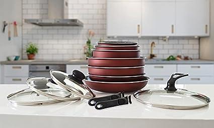Pradel Premium Top Shop batería de Cocina 13 Piezas 7 ...