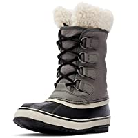 Sorel - Women's Winter Carnival Waterproof Boot for Winter, Quarry/Black, 8.5 M US