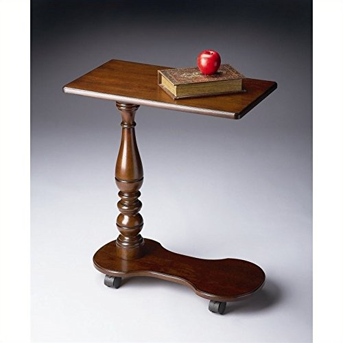 Price comparison product image Beaumont Lane Mobile Tray Table in Plantation Cherry