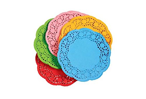 paper doilies colored - 7