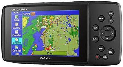 Garmin Gpsmap 276cx Handgerät 5 Zoll 12 70 Cm 450g Schwarz Navigationsgerät Nmea 0183 Internal Interne Speicherung 800 X 480 Pixel Flash Navigation