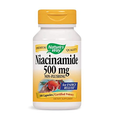 (Nature's Way Niacinamide 500mg (Packaging May Vary))