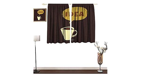 Cortinas Personalizadas para niños con diseño de cafetería con ...
