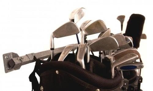 Golf Bags Trunk Organizer Rack by Monkey Bar