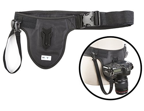 Movo Photo MB600 Universal Camera Belt Holster System for DSLR & Mirrorless Cameras