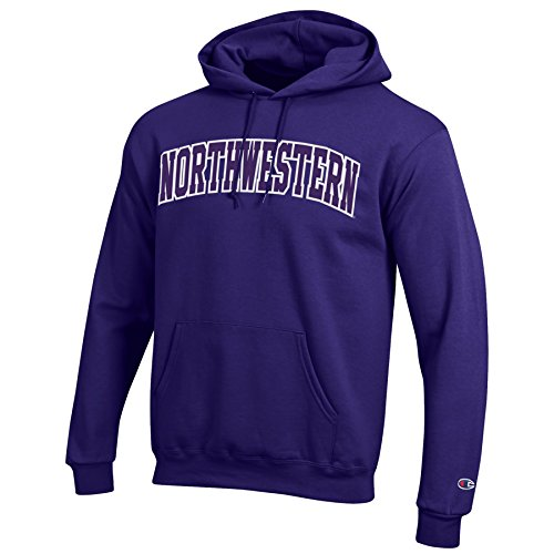 - Champion Men's Eco Powerblend Hooded Sweat Shirt, Purple, Small