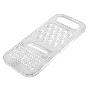 Multi Functional 3 Way Vegetable Fruit Grater 20cm Length Silver Tone