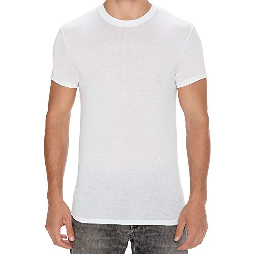 Kit Com 02 Camisetas Interior Hanes 2535 M Bco/Bco