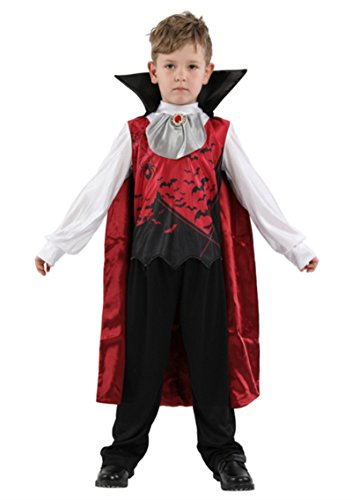 Joygown Kid's Bat Costume Jumpsuit One Piece Halloween Cosplay with Cloak M