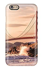New Style Premium Case With Scratch-resistant/ Golden Gate Case Cover For Iphone 6
