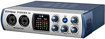 Presonus Audio Interface 2 4 2x2, 192 kHz, USB-C Audio Interface