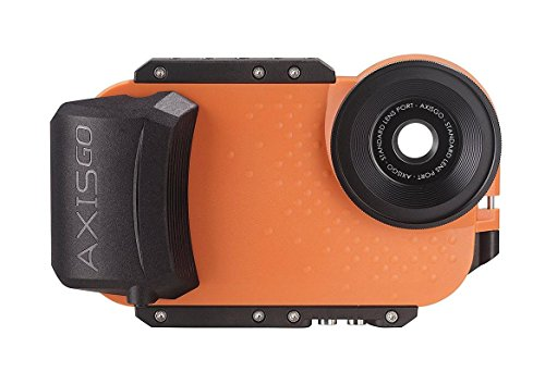 AxisGO iPhone 7/8 Sport Water Housing for Underwater Photo and Video - Sunset Orange
