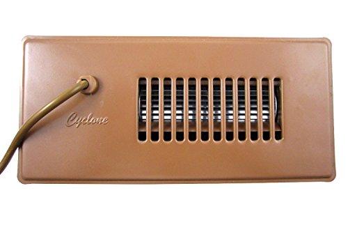Tjernlund CBB Automatic Register Booster Fan, Steel, Brown -
