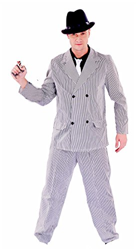 Junpai Men's Role Costume Gangster Including (Ganster Suit)