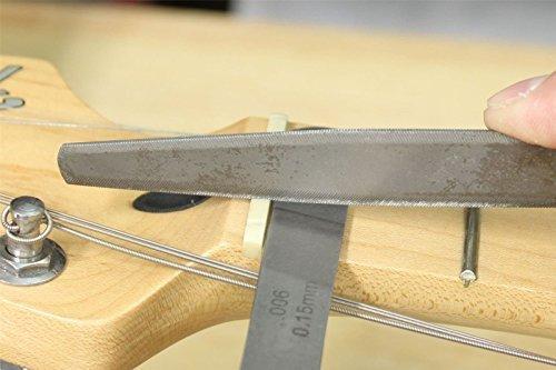 bangdan Guitar Luthier Feeler Gauge set of 20. for guitar setup & nut slot making