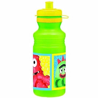 amscan Hip & Hop Yo Gabba Gabba Drink Bottle Birthday Party Favors & Prize, Green, 16 oz: Toys & Games