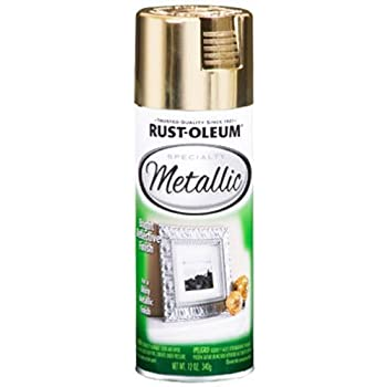 Rust-Oleum 1910830 Metallic Spray, Gold, 11-Ounce