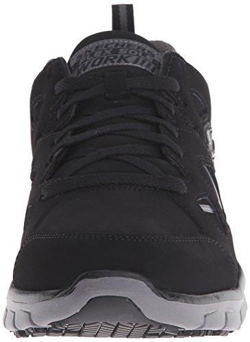 Skechers Para la oficina 77062 Sinergia Hosston zapato que camina Black