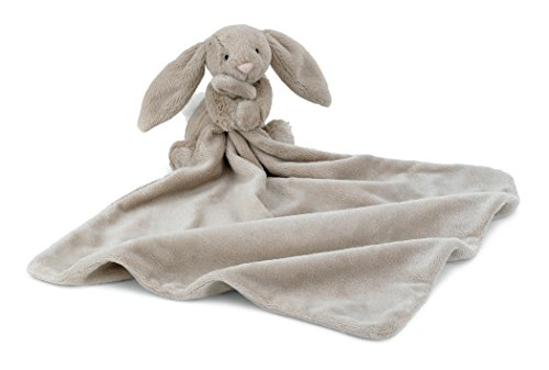 Jellycat Bashful Beige Bunny Baby Security Blanket