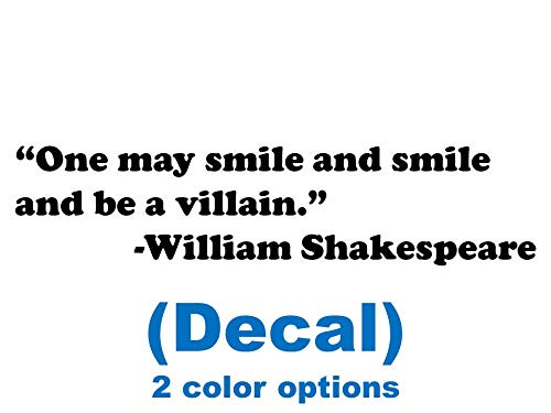 Amazoncom One May Smile And Smile And Be A Villain William