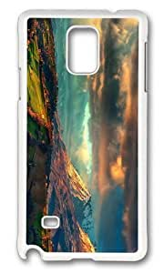 Adorable apennines landscape italy Hard Case Protective Shell Cell Phone For Case Samsung Galaxy S4 I9500 Cover - PC White