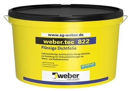Weber. tec 822 - líquido de sellado de papel de aluminio