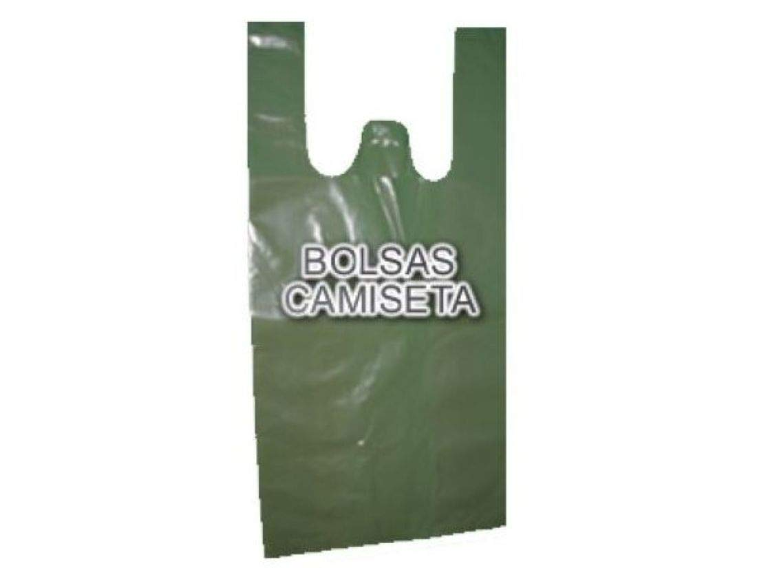 Bolsa Plastico Camiseta 42x53cm 1 Kilogramos: Amazon.es ...