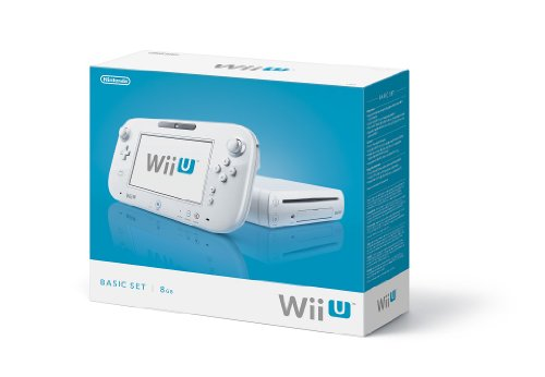 Nintendo Wii U Console 8GB Basic Set - White by Nintendo