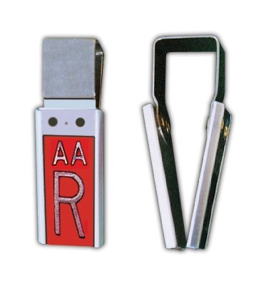 - X-Ray Markers, Clipper Style - 2-3 Initials, L&R 3/4