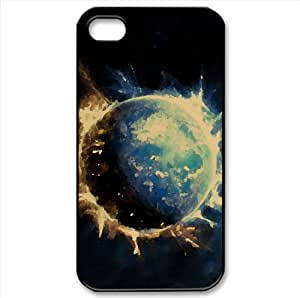 Outer Space Fantasy Watercolor style Cover iPhone 4 and 4S Case
