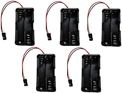 Baterie Type  AA Battery  Box  For  4.8v  with JR Connector