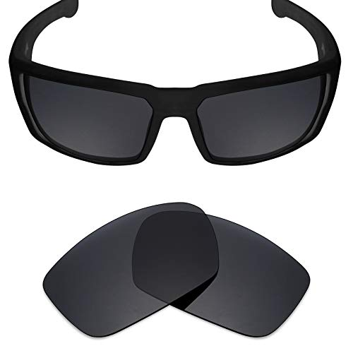 Mryok Polarized Replacement Lenses for Spy Optic Dirk - Stealth ()