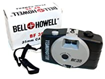 Bell & Howell BF 35 Cheap Plastic 35mm Film Camera in Box w/ Manual