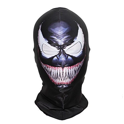 Venom Mask Scary Masks Beast Air Soft Outdoor Biker Riding Full Face Superhero Movie Cosplay Costume Party Props]()