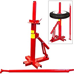 Portable Tire Changer Manual Hand Operated Bead Breaker Tool Heavy Duty Mounting Home Shop Auto Tire Changers - House Deals