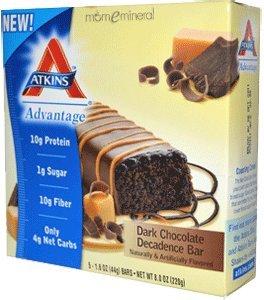 Atkins Nutritionals Atkins Advantage Bars, Dark Chocolate Decadence 5 Bars