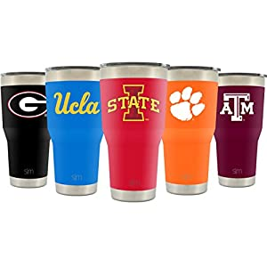 Simple Modern Iowa State University 30oz Cruiser Tumbler - Vacuum Insulated Stainless Steel Travel Mug - ISU Cyclones Tailgating Hydro Cup College Flask - University Color
