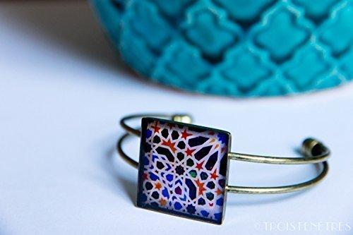 Bracelet Photographique des Mosaïques de lAlhambra - Mosaiques ...