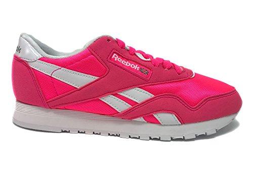 b851462d8d1b4 Reebok Women s CL Nylon Brights Sneaker - Sneaker Brands