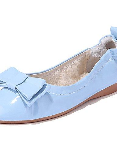 casual talón plano PDX zapatos almendra Mocasín tipo Punta y de mujer cn36 rojo us6 y blue tarde carrera de uk4 azul oficina Toe eu36 vestido Fiesta Flats UUIrW