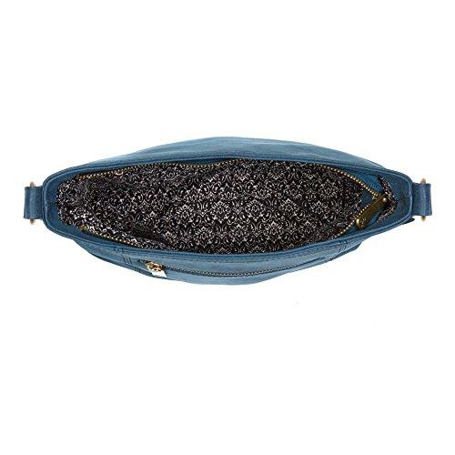 Ollie & Nic , Sac bandoulière pour femme bleu bleu sarcelle