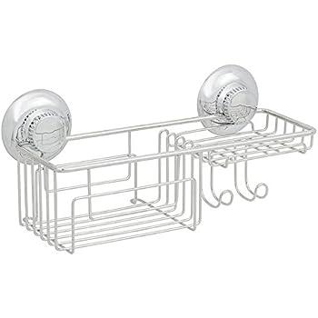 Amazon Com Gecko Loc Shower Shelf Basket Caddy W Suction Cups